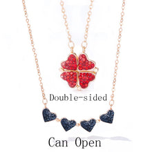 Load image into Gallery viewer, Diamond Clover Necklace