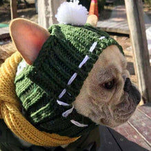Load image into Gallery viewer, Woolen Dog Hat