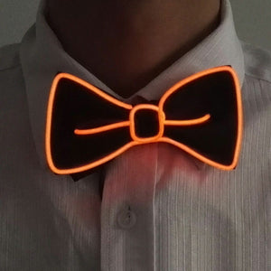 LED Light Bow Tie