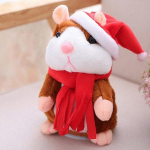 Adorable Talking Hamster Plush Toy