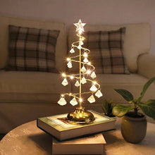 Load image into Gallery viewer, LED Christmas Tree Table Lamp
