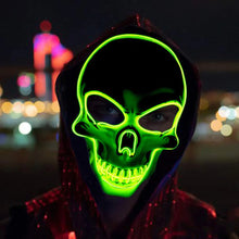 Load image into Gallery viewer, Led Skeleton Mask