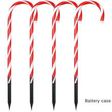 Load image into Gallery viewer, Christmas Candy Cane Lights Decorations