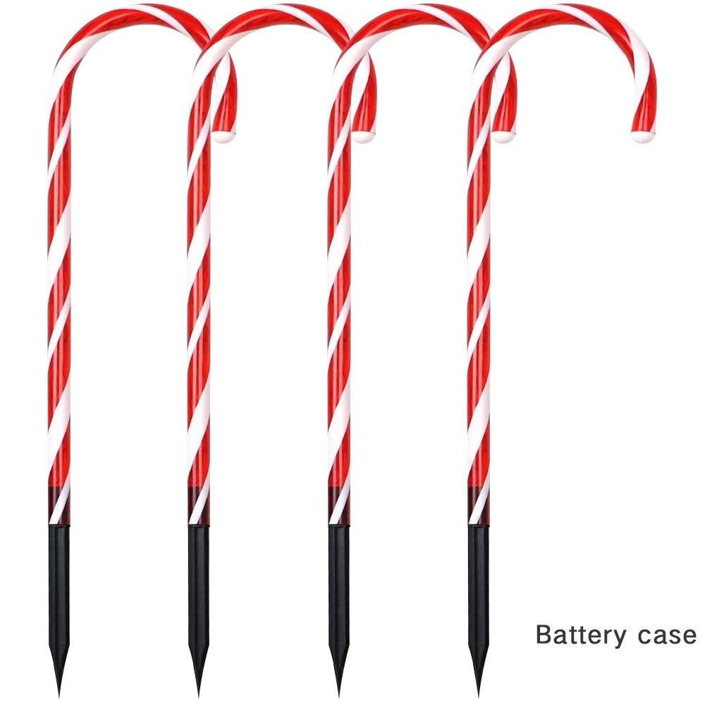 Christmas Candy Cane Lights Decorations