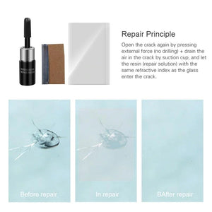 Cracked Glass Repair Kit