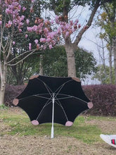 Load and play video in Gallery viewer, Creative Anti UV Sun Women's Umbrella