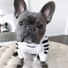 Load image into Gallery viewer, Treats French Bulldog Hoodie