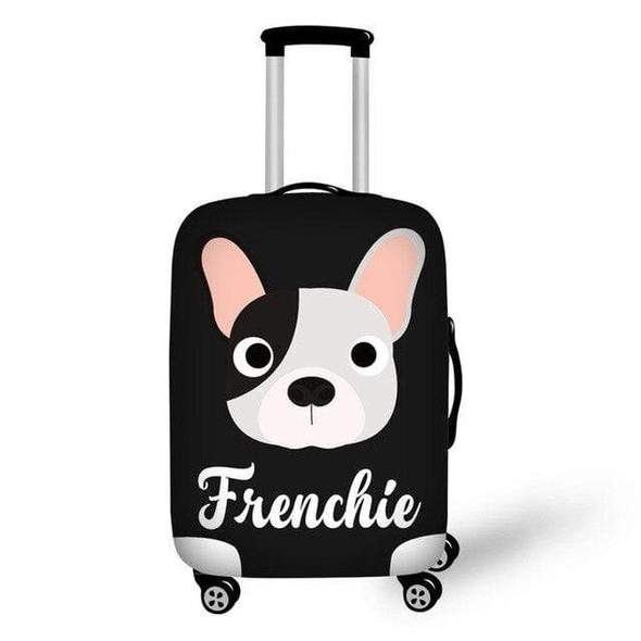 French Bulldog Luggage Cover