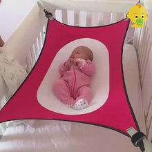 Load and play video in Gallery viewer, Baby Crib Hammock