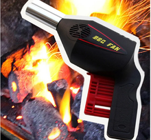 Load image into Gallery viewer, Manual Powerd BBQ Fan Portable