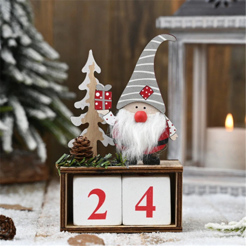 Merry Christmas Calendar Decorations