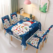 Load image into Gallery viewer, Christmas Chair/Tablecloth Cover