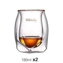 Load image into Gallery viewer, Crystal Whisky Glasses