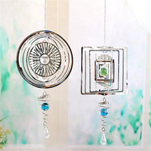 Load image into Gallery viewer, Metal Rotating Wind Chime