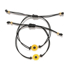 Load image into Gallery viewer, Sunflower Quote Bracelet