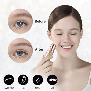 2 In 1 Electric Eyebrow Trimmer