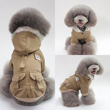 Load image into Gallery viewer, Warm Dog Coat Jacket