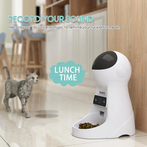 Automatic Pet Feeder With Voice Recording