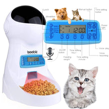 Load image into Gallery viewer, Automatic Pet Feeder With Voice Recording