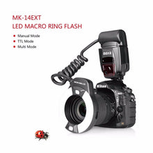 Load image into Gallery viewer, Macro LED Ring Flash Light