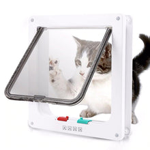Load image into Gallery viewer, Cat Flap Door With 4 Way Lock Security