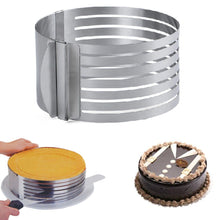 Load image into Gallery viewer, Adjustable Steel Cake Slicer