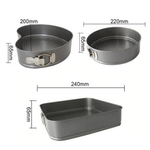 Load image into Gallery viewer, Non-Stick Cake Mold Set