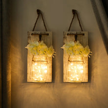 Load image into Gallery viewer, Mason Jar Sconce