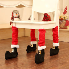 Load image into Gallery viewer, Christmas Chair Leg Covers (4PCS SET)