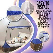 Load image into Gallery viewer, Pop Up Anti Mosquito Mesh Tent