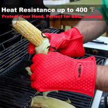 Load image into Gallery viewer, BBQ Heat Resistant Gloves