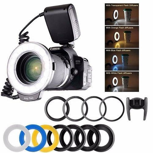 Macro LED Ring Flash Light