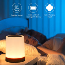 Load image into Gallery viewer, Rechargeable Touch Night Light