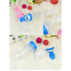 Silicon Squeeze Bottle Spoon
