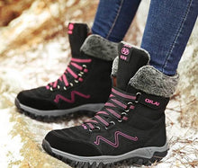Load image into Gallery viewer, Waterproof Suede Snow Boots