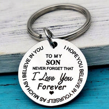 Load image into Gallery viewer, My Son/Daughter I Love You Forever Keychain