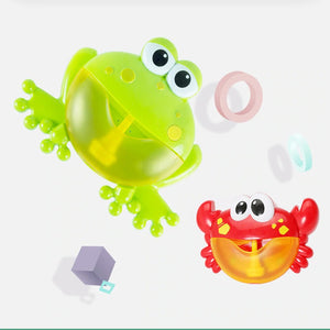 Bubble Crab And Frog Toy