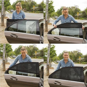 Best Universal Car Window Sun Shade Curtain