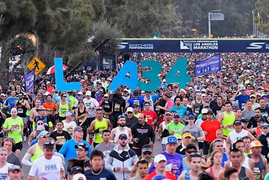 All Los Angeles Marathon weekend activities are scheduled to take place as planned.