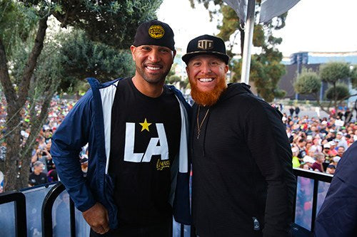 Justin Turner & Albert Pujols – Official Charity Partners