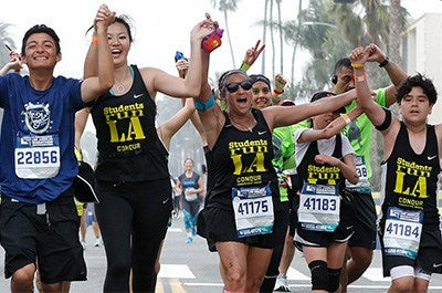 Conqur Endurance Group Expands Partnership with Students Run LA