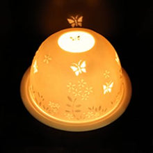 Load image into Gallery viewer, Light glow -tea light holder -Butterflies