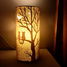 Load image into Gallery viewer, Light Glow Fabric Lamp - Love Cats