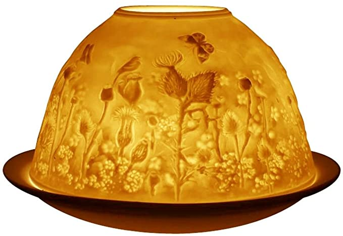 Light Glow - tea light holder - Thistle