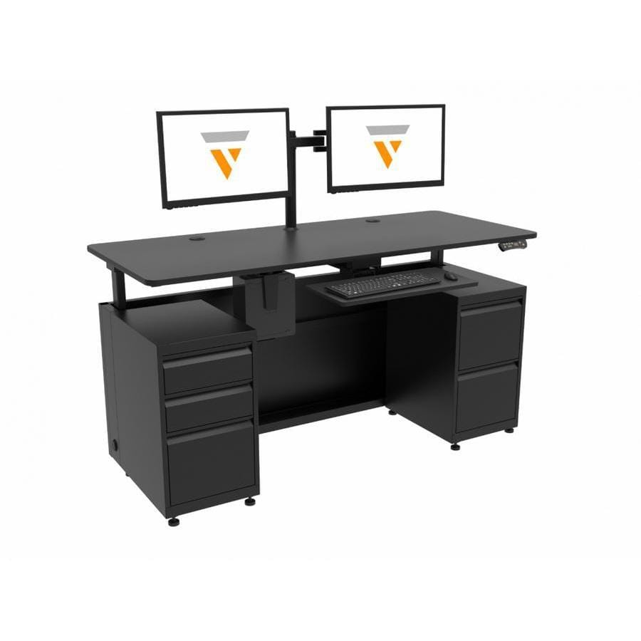 Versa Desk VersaDesk Standing Executive Desk full standing desk