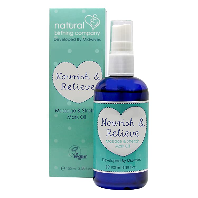 Nourish & Relieve - Massage and Stretch Mark Oil