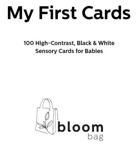High-Contrast B&W Cards