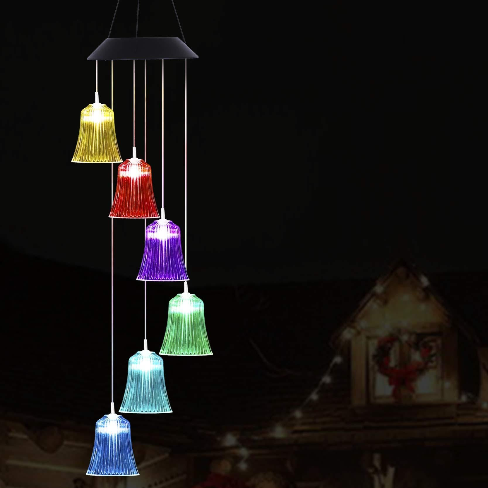 Creative Bell Solar Light