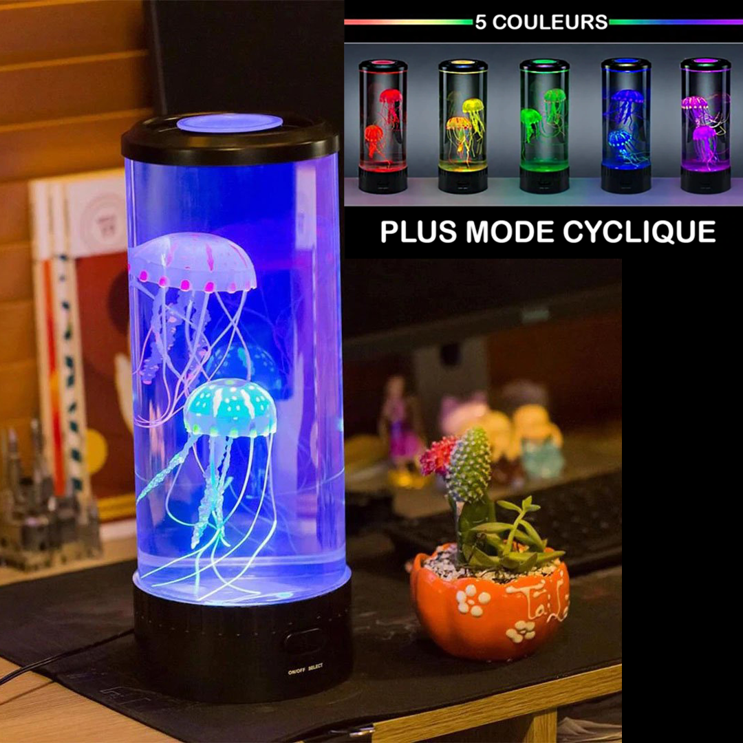 Large LED Jellyfish Lamp