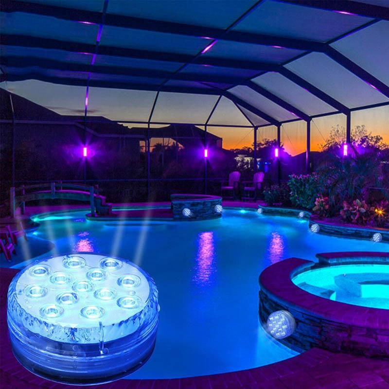 16 Colors Submersible Led Pool Lights Buy Now Pay Later